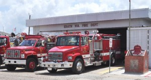 Erath Fire Department on Kibbe Street