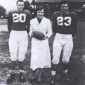 1st Queen was Ida Catherine Sandoz Landry (Players are Carol Landry & Carol Treadway)